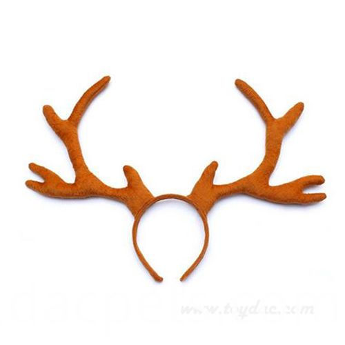 plush sika deer hairband