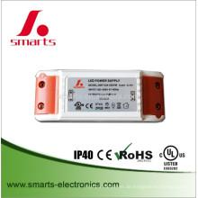 UL listete 110v volle Spannung 24V DC 1A 24w LED-Streifenlichttreiber auf