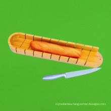 Natural Bamboo Cutting Block Bread Cutting Board