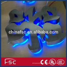 Exquisite plastic luminous LED 3d channel letter waterproof