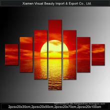 Beliebte Sonnenuntergang Kunst Gemälde