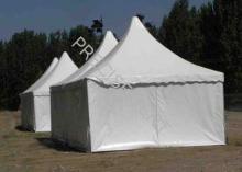 PVC Aluminum Easy Up 5 x 5 Event Marquee Pagoda Tent , UV P