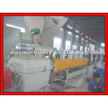 Parallel double screw extruder WPC Granulating Machine