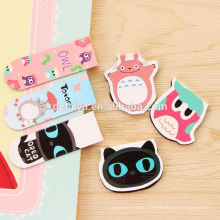 Creative Cartoon Cute Animal Book Bookmark Magnet Magnetic Stationery for Children