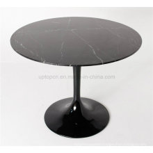 Round Tulip Artificial Marble Fast Food Table (SP-GT386)