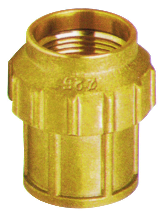 brass straight cooper fitting