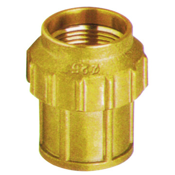 cw617n brass compression fitting for MDPE pipes