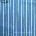 Cotton Poplin Woven Yarn Dyed Fabric for Garments Shirts/Dress Rls40-3po