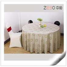 Tecido Jacquard de alta qualidade colorido mancha toalha de poliéster resistente