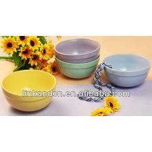 KC-04014round сплошные цветные чаши, посуда / мороженое