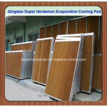 Almohadilla de enfriamiento evaporativo de alta calidad para la casa de las aves de corral