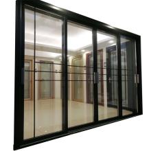 Modern house design  high performance aluminum windows and sliding doors