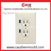 Plastic Injection Plug Mould with Two Socket