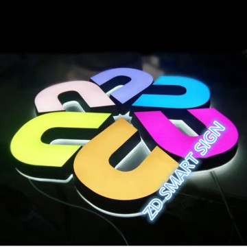3D-kanal Brev Small Led Letters Sign fabriks