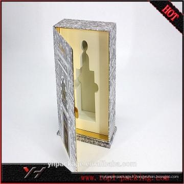 Boîte de papier cosmétique promotionnel avec revêtement en plastique fabriqué en Chine