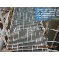 Piso industrial galvanizado grade de aço serrilhada