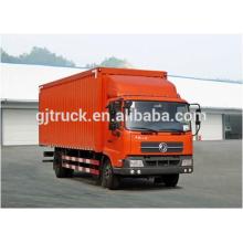 Camión de 4x2 Dongfeng van box para 6900MM van box con 2T plataforma de trabajo de elevación trasera