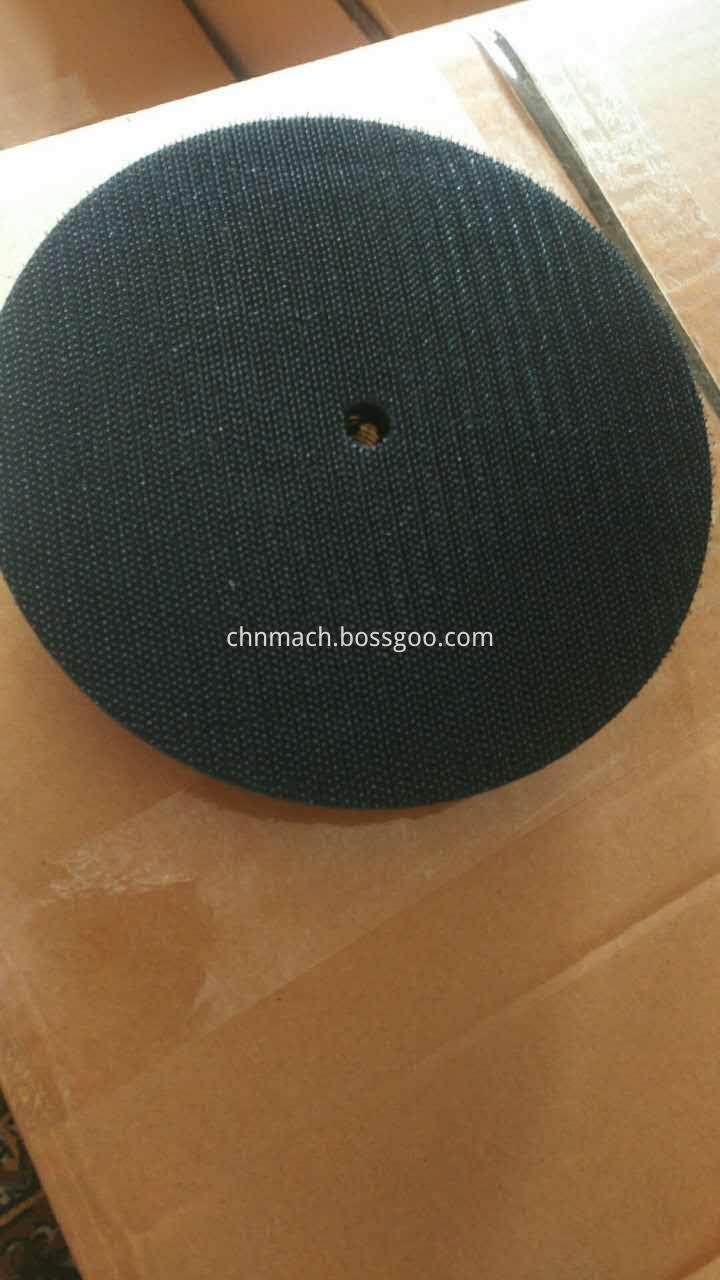 rubber backer pad