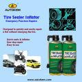 Уплотнитель шин Уплотнитель спрей для шин с напылением, герметик для шин и инфлятор 400 мл / 500 мл Бесплатный образец