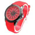 Boys Girls Silicone Wristband Quartz Wrist Watch New