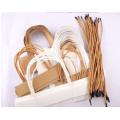 Máquina para fabricar bolsas de papel con asas en línea
