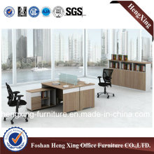 2 Seats L Shape Workstation Office Cubicle (HX-CRV004)