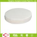 Двойными бортами силиконовым покрытием Размер бумаги для выпечки круги ОЕМ Aavailable