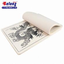 So lange Tattoo Factory Versorgung Reiben Praxis Hautgröße 15 * 20 cm Fisch Muster Tattoo Praxis Haut