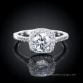 Art und Weise Zircon Platinum Ring Elegantes Design für Frauen Hochzeit