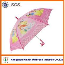 Rosa Auto offen niedlichen Druck Regen Mode Catoon Kinder Regenschirm