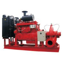 Pompe à eau de lutte contre l'incendie diesel