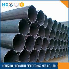 Tubo de acero soldado con carbono negro redondo A106GRB