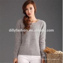 вязаный джемпер для женщин норки кашемировый свитер