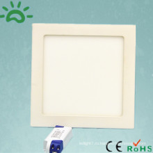 Оптовая цена 95-265v алюминия и пластика квадратных 18w потолок привело панели освещения