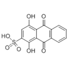 1,4-Dihydroxyanthraquinone-2-sulfonic acid CAS 145-48-2