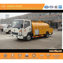 HOWO 4X2 5000L sewer dredging vehicle