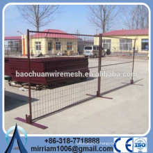 Anping factory removable canada standard hot dipped galvanized temporary fence