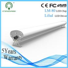 Polvo / humedad / agua a prueba de aluminio 600 mm Tri-Proof LED tubo