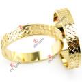 Fashion Gold Bangles Jewellry pour le cadeau de la Saint-Valentin (B-16)