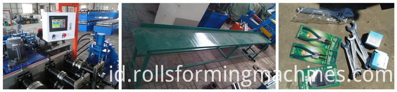 Electric Control System keel roll forming machine