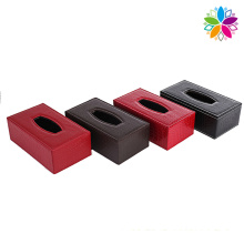 European Style Leather Tissue Box (ZJH054)