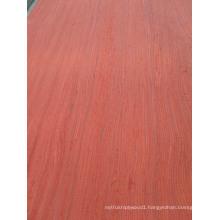 Red Padauk Engineered Wood for Korea Market