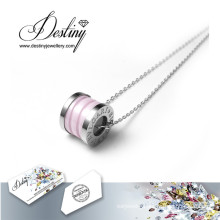 Destiny Jewellery Crystals From Swarovski Pendant Ceramics Necklace
