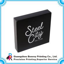 Таможенный картона печатание коробки цвета горячей продажи черный одевать