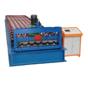 Galvaniserad Metal Sheet Roof Tile Roll Forming Machine