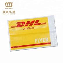 Alta qualidade à prova de rasgo qualidade biodegradável dhl envelope de embalagem à prova d 'água
