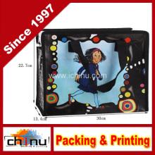 Promoção embalagem de compras não tecidos saco (920060)