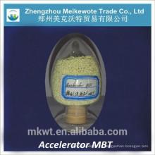 Produtos químicos de borracha MBT para fábrica de pneus de Indonésia