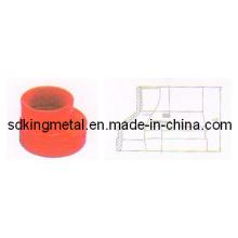 Reductor excentrico roscado DIN de hierro dúctil