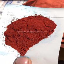 Pigment d'oxyde de fer synthétique rouge 129 pour la peinture